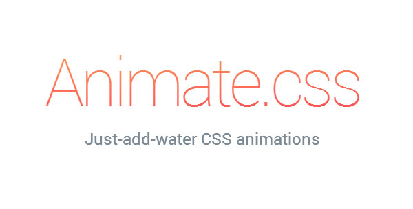 Animate.CSS just add water
